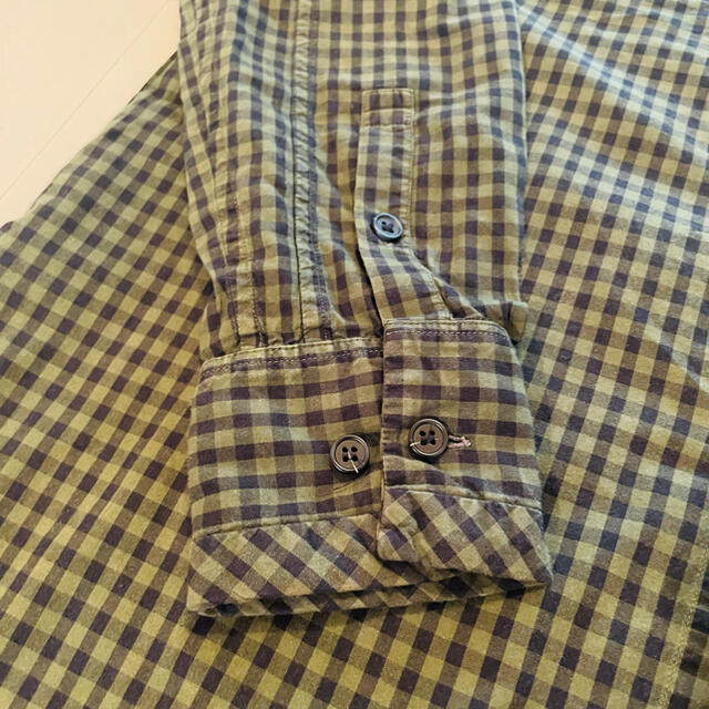 Paul Harnden(ポールハーデン)のCASEY CASEY BANDCOLOR CHECK SHIRTS メンズのトップス(シャツ)の商品写真