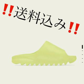 アディダス(adidas)のadidas YEEZY SLIDE  26.5 グロウグリーン サンダル(サンダル)