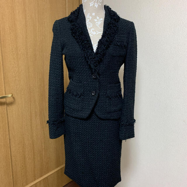 MICHEL KLEIN(ミッシェルクラン)のミッシェルクラウン ジャケットスーツ レディースのフォーマル/ドレス(スーツ)の商品写真