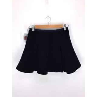 サカイラック(sacai luck)のsacai luck(サカイラック) ストライプ柄 ウールミニスカート スカート(その他)