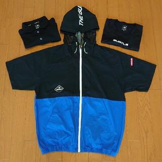BURTLE - バートル 半袖空調服 半袖ポロシャツ 長袖インナーシャツ XL 3枚セット