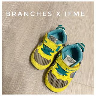 ブランシェス(Branshes)のIFME x Branchesコラボ スニーカー イフミー キッズ 14cm (スニーカー)