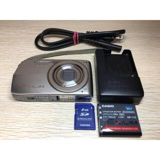 カシオ(CASIO)のカシオ CASIO EXLIM EX-Z2000 デジカメ SDカード付(コンパクトデジタルカメラ)