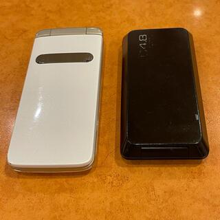 エーユー(au)のiiba  GRATINA2 ガラケー 2個(携帯電話本体)