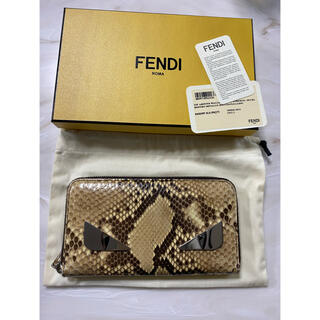 フェンディ(FENDI)のフェンディ パイソン 長財布 モンスター(長財布)