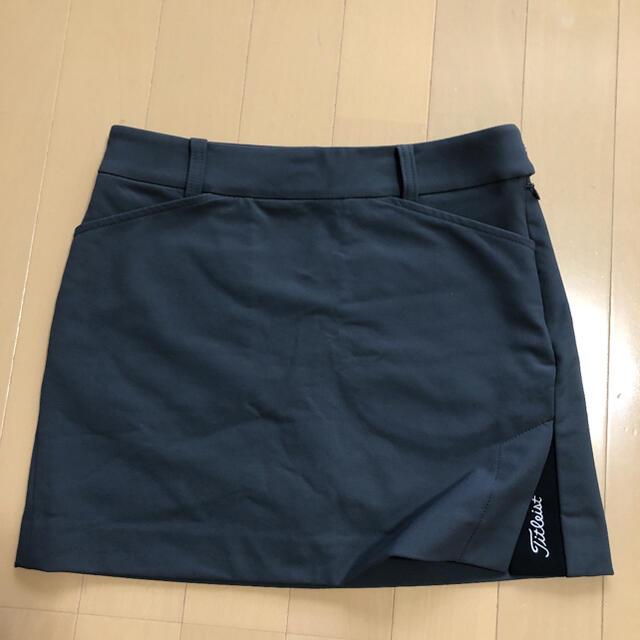 Titleist(タイトリスト)のタイトルリストレディース 韓国XSスカート 美品❗️ スポーツ/アウトドアのゴルフ(ウエア)の商品写真