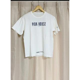 ピンクハウス(PINK HOUSE)のPINK HOUSE ピンクハウス 白 Tシャツ(Tシャツ(半袖/袖なし))