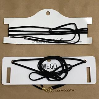 ウィゴー(WEGO)のWEGO ロングチョーカー 2点セット(ネックレス)