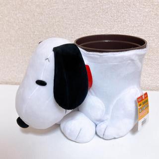 SNOOPY - 新品タグ付き スヌーピー ぬいぐるみダスト ダストボックス ゴミ箱