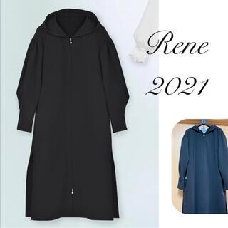 ルネ(René)の新品未使用 Rene♡ 2021年 DM掲載 ボリューム袖ロングパーカー(パーカー)