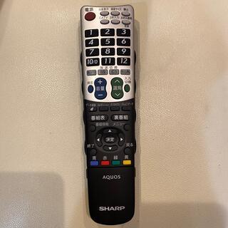 アクオス(AQUOS)のAQUOS SHARPテレビリモコン(その他)