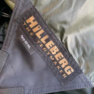 ヒルバーグ(HILLEBERG)のHilleberg Tarp50 mil  ヒルバーグ ミルスペック(テント/タープ)
