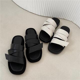 ZARA - Volume Platform Sandals 2足セット
