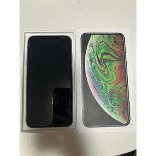 アイフォーン(iPhone)のiPhone xs max 64GB スペースグレー(スマートフォン本体)