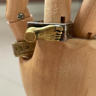 アッシュペーフランス(H.P.FRANCE)のウケンムケン 足首リング 指輪(リング(指輪))