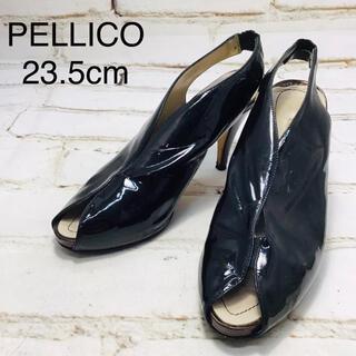 PELLICO - PELLICO ペリーコ サンダル ブラック 23.5cm