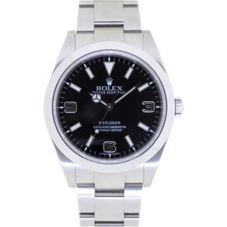ロレックス(ROLEX)のロレックス 前期 エクスプローラー1 214270 自動巻き ステ(腕時計(アナログ))