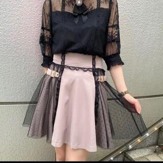ロジータ(ROJITA)のロジータ チュールピンクスカート(ミニスカート)