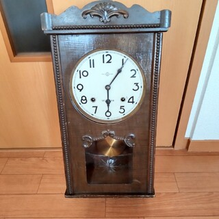 SEIKO - アンティーク  セイコー社 精工舎 ボンボン時計 振り子時計 壁掛け古時計