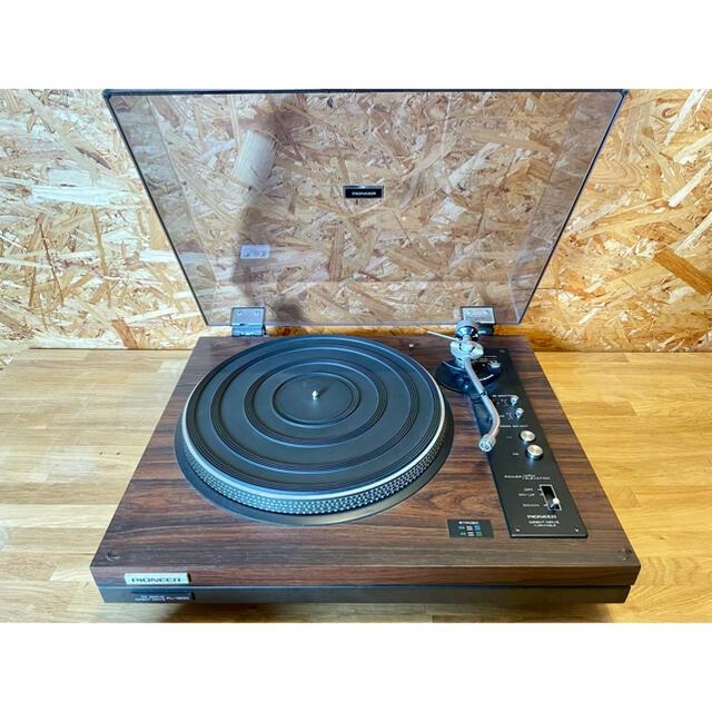 Pioneer(パイオニア)のPioneer パイオニア ターンテーブル PL-1200 レコード プレーヤー 楽器のDJ機器(ターンテーブル)の商品写真