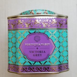 ヴィクトリアグレイ ルーズリーフ紅茶茶葉125g デコラティブ缶入り(茶)