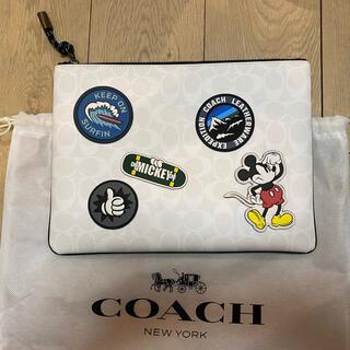 コーチ(COACH)の新品 ミッキー COACH コーチ クラッチバック(クラッチバッグ)
