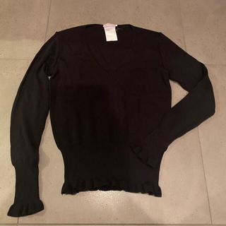 マックスアンドコー(Max & Co.)のMAX &Co ブラック マックスアンドコー ウールセーター Sサイズ(ニット/セーター)