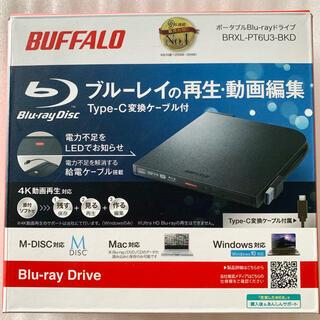 Buffalo - バッファロー ブルーレイドライブ BRXL-PT6U3-BKD [新品未開封]