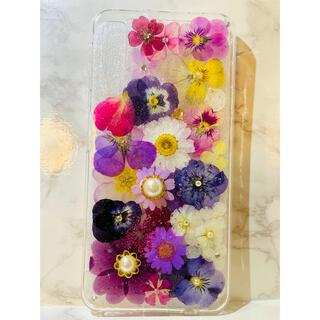 iPhoneケース、iPhoneカバー、押し花ケース、スマホケース、アンドロイド(スマホケース)