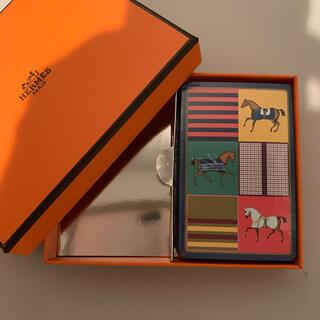 エルメス(Hermes)の未使用 エルメス トランプ ブリッジカード 未開封 1セット 54枚 箱付き(トランプ/UNO)