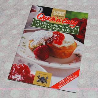 NZ購入★ Quick'n'Easy マフィン・スコーン・ケーキ etc/英語(料理/グルメ)