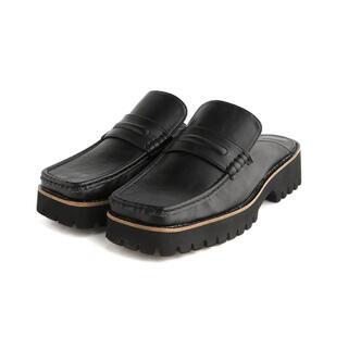 ジーナシス(JEANASIS)の【本日限定お値下げ】JEANASIS アツゾコミュールローファー(ローファー/革靴)