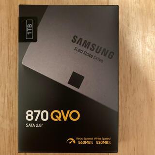 SAMSUNG - 【新品】SAMSUNG SSD 870QVO 1TB
