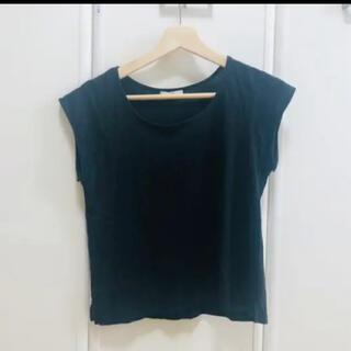 ミスティック(mystic)のミスティック 黒トップス カットソー(Tシャツ(半袖/袖なし))
