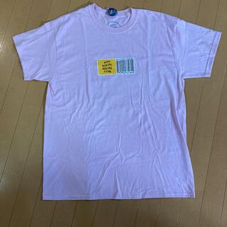 アンチ(ANTI)のアンチソーシャルソーシャルクラブ Tシャツ ピンク Lサイズ(Tシャツ/カットソー(半袖/袖なし))
