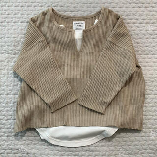 CIAOPANIC TYPY - キーネックワッフルチュニック 長袖Tシャツ100 110