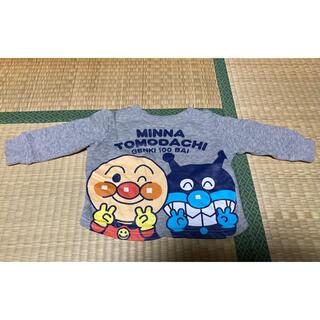 バンダイ(BANDAI)のアンパンマン 裏起毛トレーナー【size80】(トレーナー)