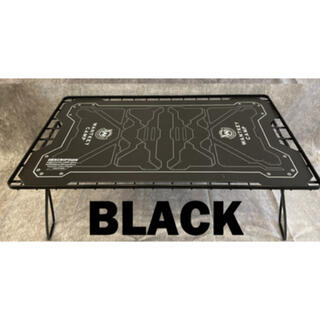 UNIFLAME - WANTKEY CAMP CYBER TOP フィールドラック 天板 ブラック