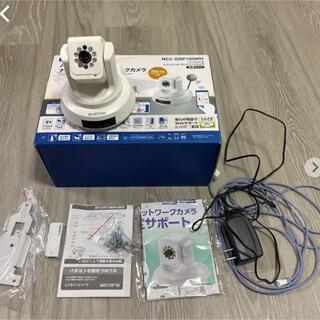 エレコム(ELECOM)のElecom NCC-ENP100WHナイトビジョングネットワークカメラ(防湿庫)