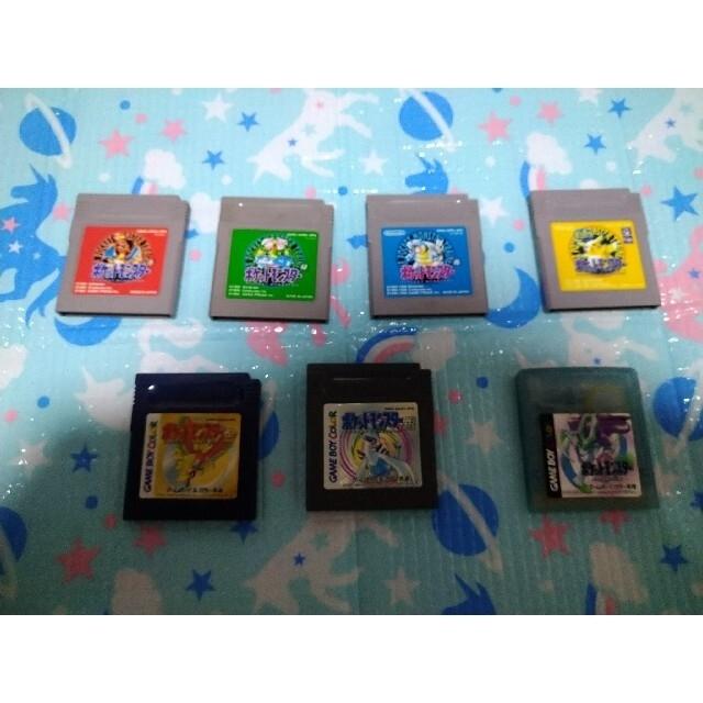 ゲームボーイ(ゲームボーイ)のGB ポケモンセット エンタメ/ホビーのゲームソフト/ゲーム機本体(携帯用ゲームソフト)の商品写真