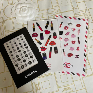 CHANEL - CHANEL ステッカー 3枚set