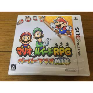 ニンテンドー3DS(ニンテンドー3DS)のマリオ&ルイージRPG ペーパーマリオMIX(家庭用ゲームソフト)