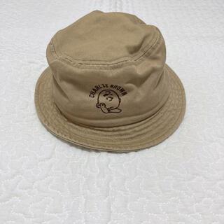 スヌーピー(SNOOPY)のバースデイ スヌーピー チャーリーブラウン バケットハット 帽子(帽子)