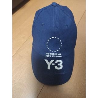 ワイスリー(Y-3)のY-3 キャップ NAVY(キャップ)