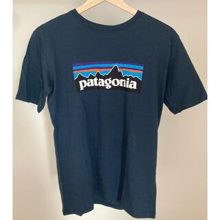 パタゴニア(patagonia)の最後の1点 パタゴニア レディース ネイビー XXL Tシャツ(Tシャツ(半袖/袖なし))