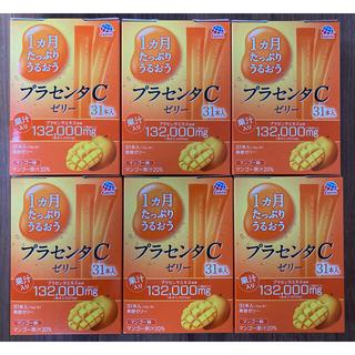 アースセイヤク(アース製薬)のプラセンタCゼリー マンゴー味(10g*31本入)6箱(コラーゲン)