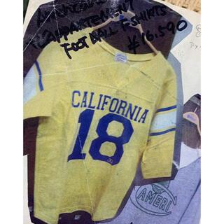 アパルトモンドゥーズィエムクラス(L'Appartement DEUXIEME CLASSE)のアメリカーナアパルトモン限定コラボフットボールTシャツ(Tシャツ/カットソー(七分/長袖))
