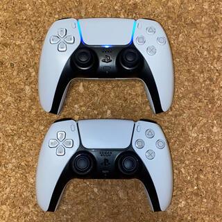 PS5 コントローラー ジャンク品 2台(その他)