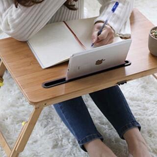 ❤重厚感&高級感溢れる天然竹製❣レトロモダンなデザイン♪❤万能ローテーブル(ローテーブル)