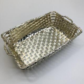 和光堂 - WAKO ワコウ 銀座和光 シルバートレイ バスケット 銀仕上 菓子置き